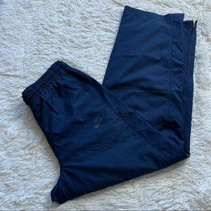 New Nike Men's Navy Blue Windbreaker Pants